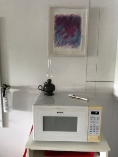 a kitchen view